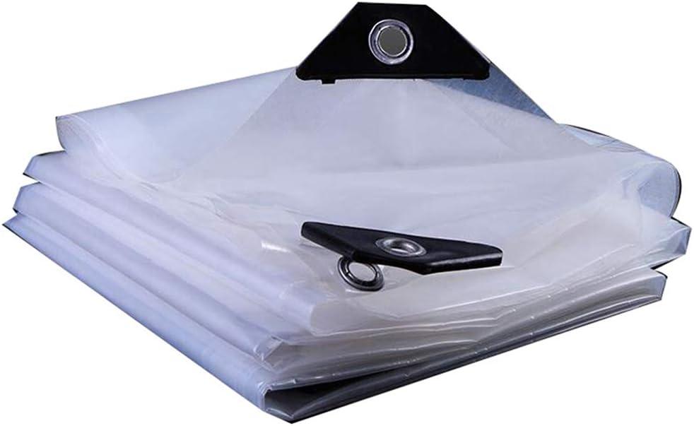 QI-CHE-YI Persenning Vorhang Balkon Regenschutz Balkon Kunststoff-Tuch Regen Fenster Transparente Rollvorhang Regen Vorhang,1x1m