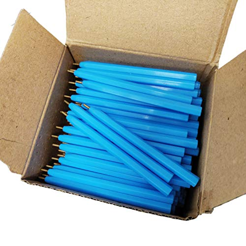 Essential Arts Jotta Pen for Golf, Bookies, Bridge, Schools. Box 144 Half Size Black Ink Disposable Pens