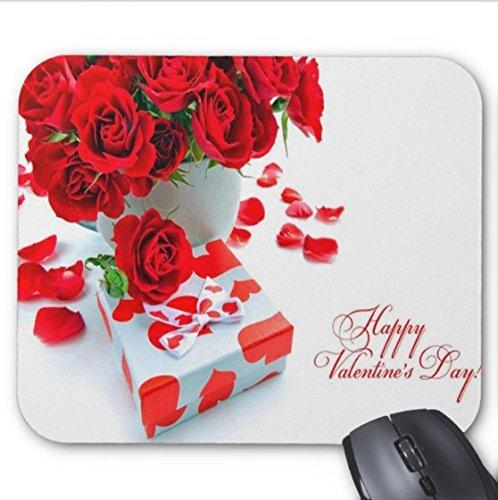 Happy Valentines Day 2018 Pattern 6 alfombrilla para ratón