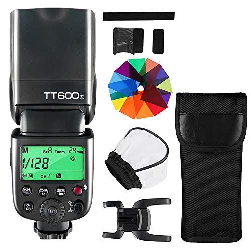 GODOX TT600S Kamera Blitzgerät 2.4G HSS 1/8000s GN60 Speedlite Blitz Kompatibel mit Sony Kameras mit MI Blitzschuh (TT600S)