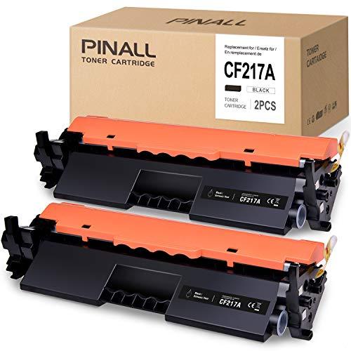 PINALL - Tóner Compatible con HP CF217A 17A para Impresora HP Laserjet Pro M102A M102W MFP M130a M130nw M130fn M130fw (2 Unidades)