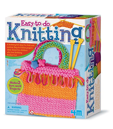 4M Easy-to-do Knitting Art Kit (3593)