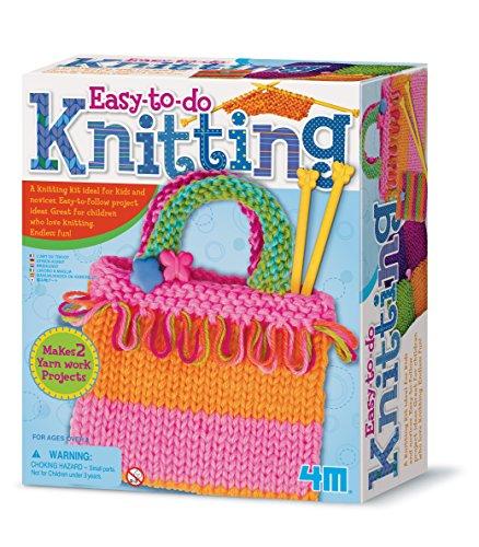 4M Easy-to-do Knitting Art Kit