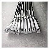 La artesanía de primera clase te hace más cómodo e Golf Club G410 Set de hierro G410 Golf Irons Golf Clubs 4-9SUW R O S FLEX STEEL Y EJE DE GRAFÍA CON CUBIERTA DE LA CABEZA ( Color : NS.PRO.950NEO R )