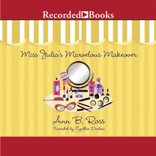 Miss Julia's Marvelous Makeover audiobook cover art