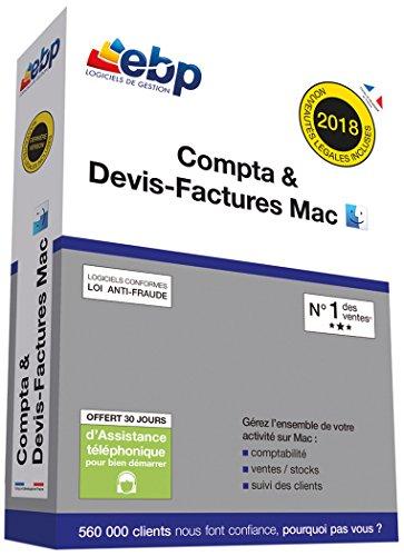 EBP Compta & Devis-Factures MAC - Dernière version - Ntés Légales incluses