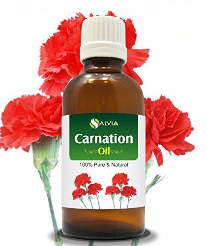 Aceite esencial de clavel (dianthus caryophyllus) 100% puro y natural – sin diluir aceite de aromaterapia sin cortar – grado terapéutico – 30 ml