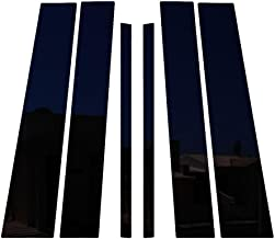 Ferreus Industries Piano Black Pillar Post Trim Cover fits: 2004-2013 Infiniti QX56 All Models PIL-072-GB