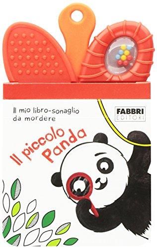 Il piccolo panda. Il mio primo libro sonaglio da mordere. Ediz. illustrata