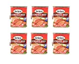 Grace Corned Beef (6 Pack, Total of 72oz)