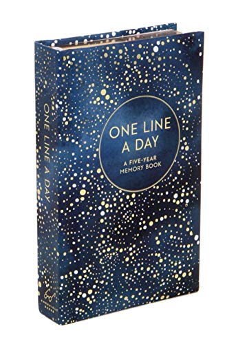 One Line a Day (Celestial): A Five-Year Memory Journal