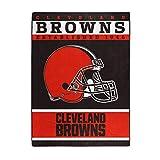 NFL Cleveland Browns '12th Man' Raschel Throw Blanket, 60' x 80'