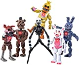 Inspired by Five Nights at Freddy's   Set of 6 PCS   FNAF Action Figures   Toy Set   Action Figures Toys Dolls   Toys Gifts   Cake Toppers   About 6 inches