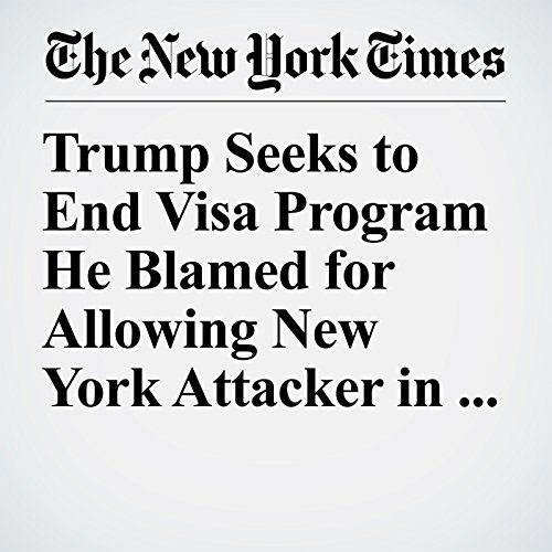 Trump Seeks to End Visa Program He Blamed for Allowing New York Attacker in the U.S. copertina