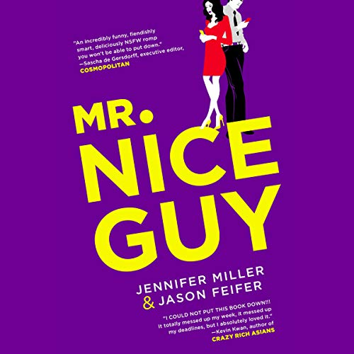 Mr. Nice Guy audiobook cover art