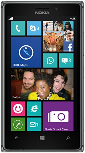 Nokia Lumia 925 Smartphone, 3G, Nero [Germania]
