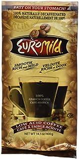 Euromild Low Acid Ground Coffee DECAFFEINATED (14.1 OZ.)