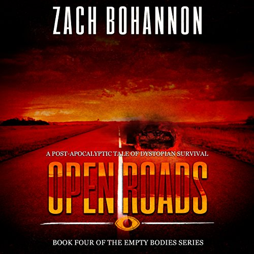 Open Roads audiobook cover art