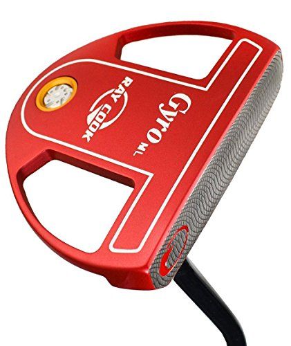 """Ray Cook Golf- Limited Edition Gyro Putter Red 35"""" -  901520"""