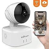 Caméra Surveillance WiFi avec Alerte de détection de Mouvement, Caméra IP de...