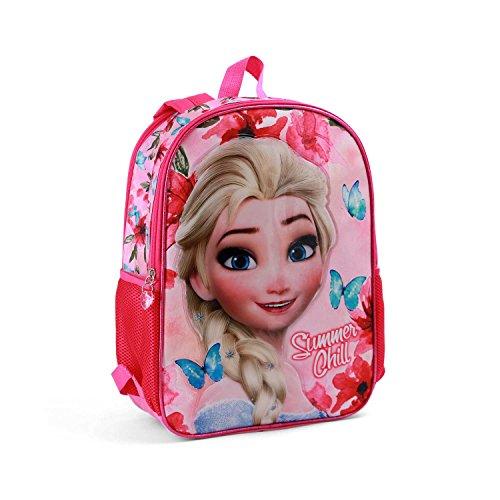 Karactermania Frozen Summer Chill Mochila Infantil  41 cm  Rosa
