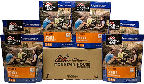 Mountain House Lasagna with Meat Sauce 6-Pack