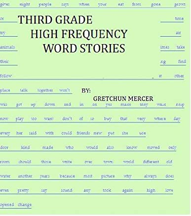Amazon.com: THIRD GRADE HIGH FREQUENCY WORD STORIES (HIGH ...