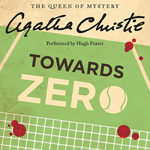 Towards Zero audiobook cover art