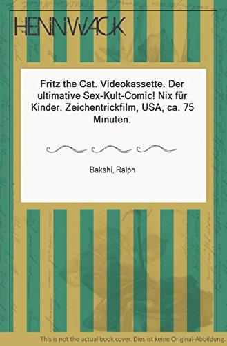 Fritz the Cat. Videokassette. Der ultimative Sex-Kult-Comic! Nix für Kinder. Zeichentrickfilm, USA, ca. 75 Minuten.