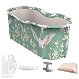 Foldable Bath Tub,Portable Bathtub for Adults,1-2 People Portable Shower,Suitable for All Seasons
