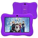 contixo V9-3-32 Tableta para niños de 7 Pulgadas, 2GB RAM 32 GB ROM, Tableta Android 10, Tabletas educativas para niños, Control Parental preinstalado, Morado