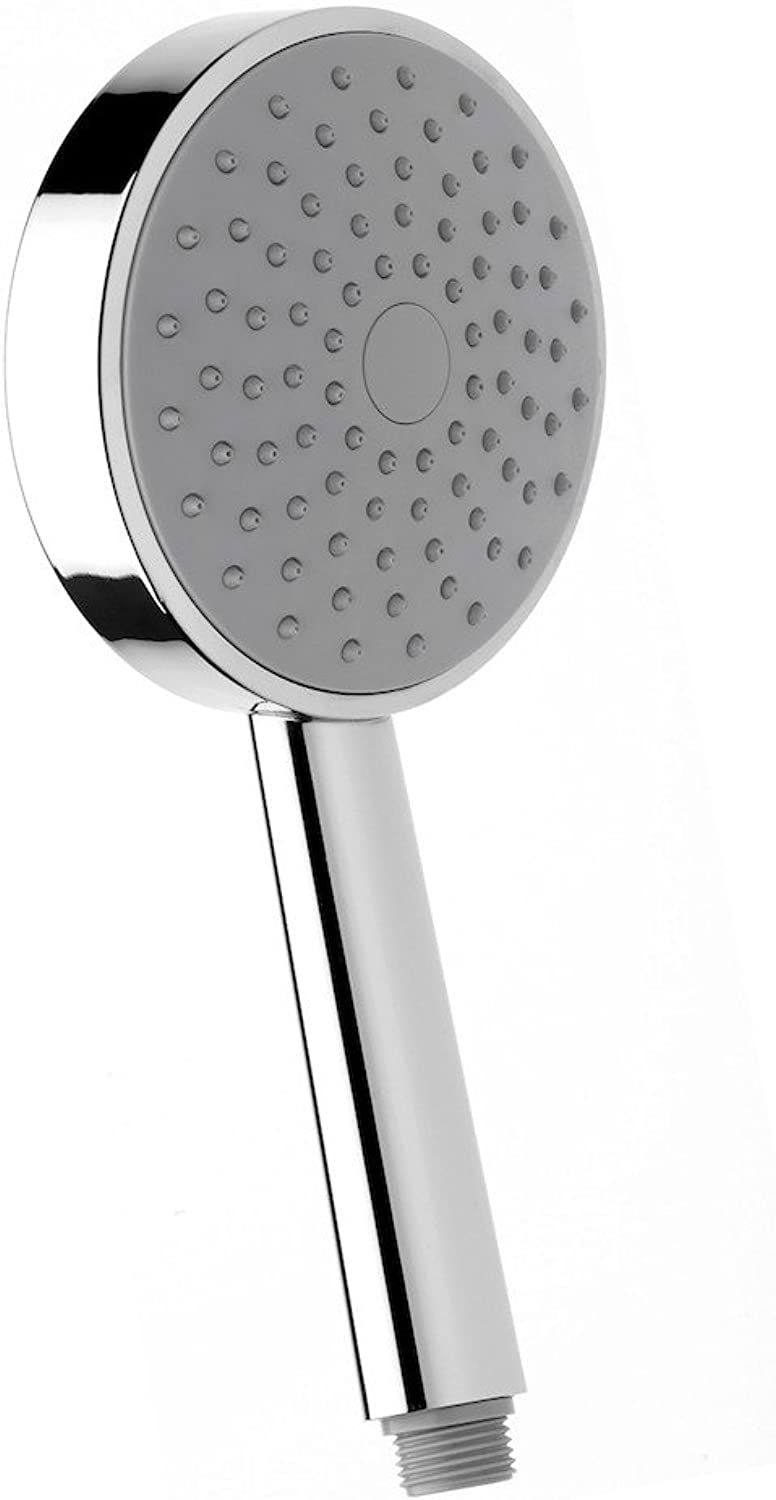 'NIKLES XL Techno 120?Hand Shower Clean 1 2?Diameter 120?mm, 1?Jet, with Easy to Clean Technology Regulated 12?L MIN Flow Rate