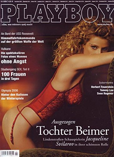 Playboy Nr. 02/2006 Olympia 2006 Hinter den Kulissen der Winterspiele