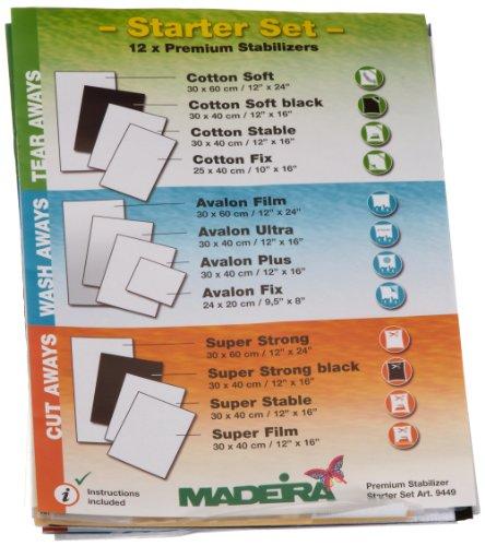 MADEIRA Stickvlies Starter Set, One Size