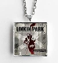 Album Cover Art Pendant Necklace Linkin Park Hybrid Theory