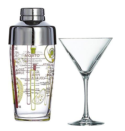 Luminarc 15911, Serie Cocktail, Set di Bicchieri, 5Pezzi