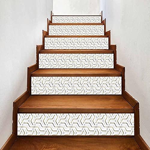 Pelar y pegar azulejos contra salpicaduras calcomanías para escaleras verticales calcomanías para azulejos de bricolaje Talavera mexicana decoración del hogar calcomanía para escaleras calcomanías par