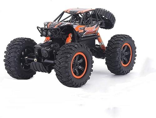 Fernbedienung Allradantrieb Gel emodellauto 1 10, Junge mädchen Geschenk Drahtlose Steuerung Supersportwagen Elektrische Mini-Lithium-Batterie Rennen (Farbe   Orange)