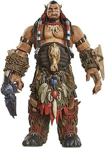 QingShunBeiJing World of Warcraft: Durotan die Axt Charakter Nendoroid Actionfigur für Kinder Geburtstagsgeschenk und Bürodekoration - 6 Zoll Actionfigur