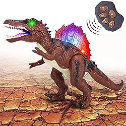 2. Acksonse Store Remote Control Spinosaurus Dinosaur
