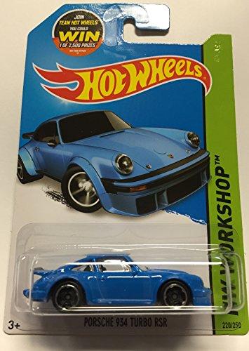 2015 Hot Wheels Hw Workshop - Porsche 934 Turbo RSR (Blue)