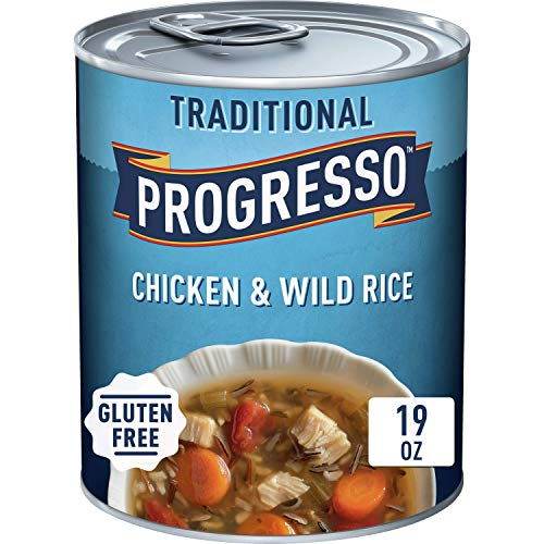 Progresso Traditional, Chicken and Wild Rice Soup, 19 oz (Pack of 12)