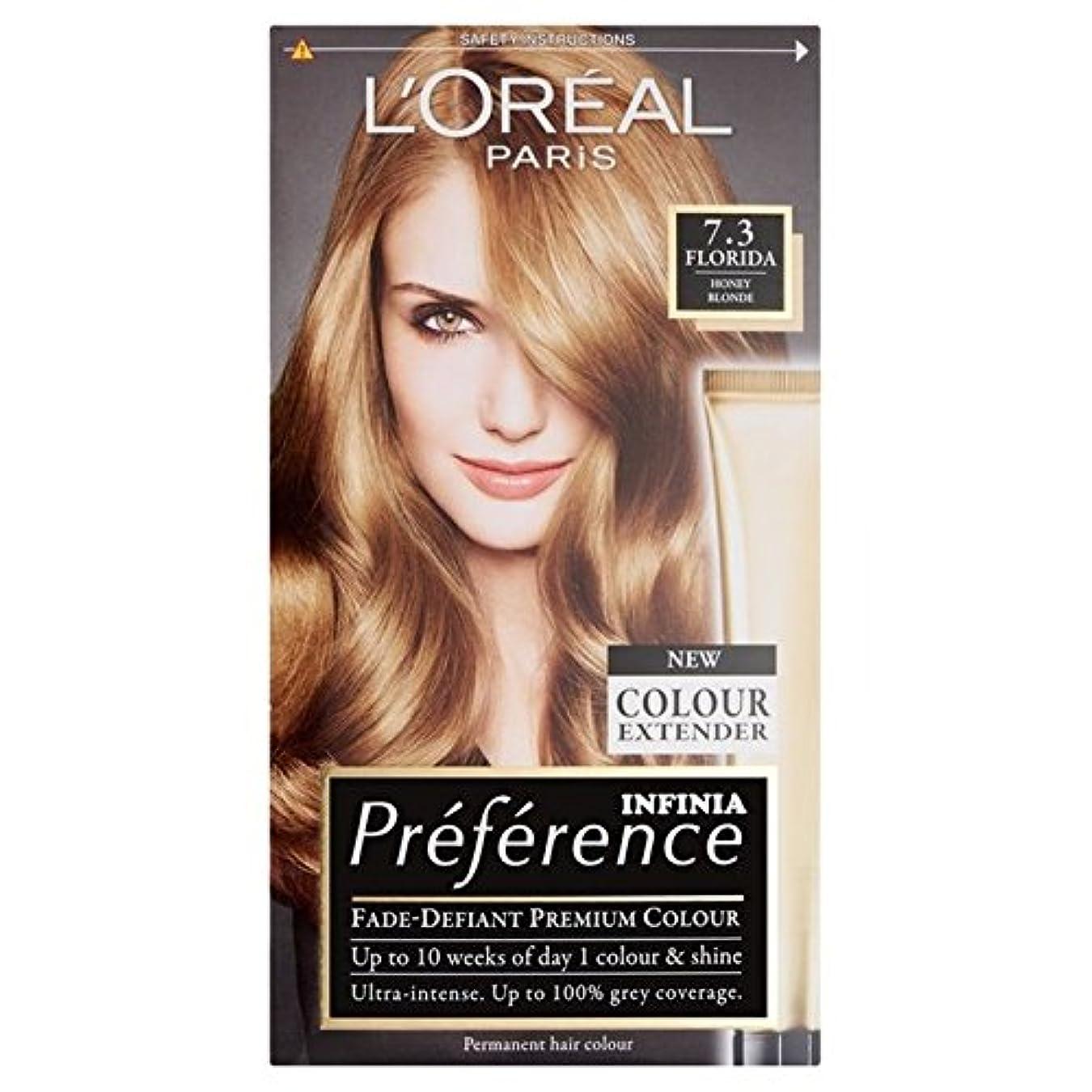 オーロック役に立たないオーストラリア人L'Oreal Paris Preference 7.3 Florida Honey Blonde (Pack of 6) - ロレアルパリの嗜好7.3フロリダハニーブロンド x6 [並行輸入品]