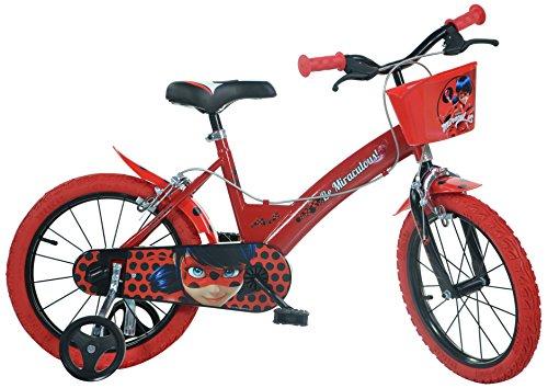 "Dino- Bicicletta 16"" Miraculous, 164R-LB"