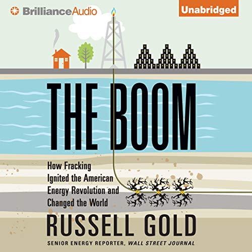 The Boom audiobook cover art