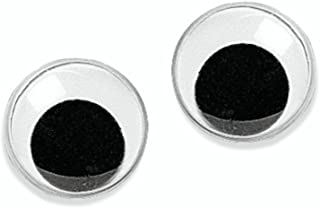 Knorr Prandell 2480255 Wiggle Googly Eyes, Diameter 25 mm, Black / White