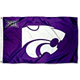 College Flags & Banners Co. Kansas State Wildcats Big 12 3x5 Flag