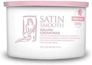 Satin Smooth Deluxe Cream Hair Removal Wax 14oz.