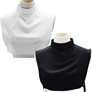 turtleneck dickey collar