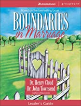 Boundaries in Marriage Leader's Guide